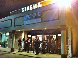 The Englewood Cinema on opening night.