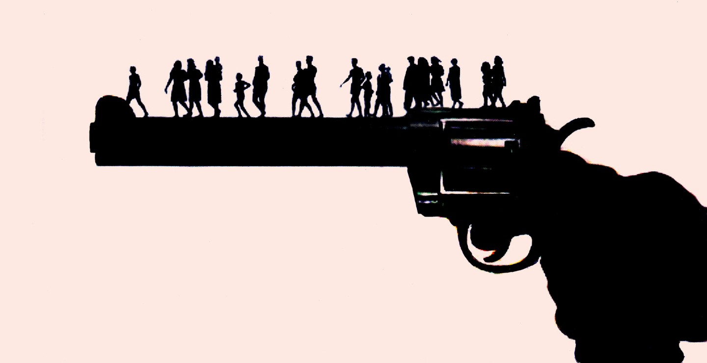 11,000 people died of violent crimes commited with firearms in 2017.