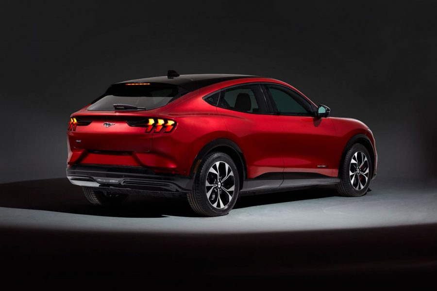 The new Mustang Mach-E SUV
