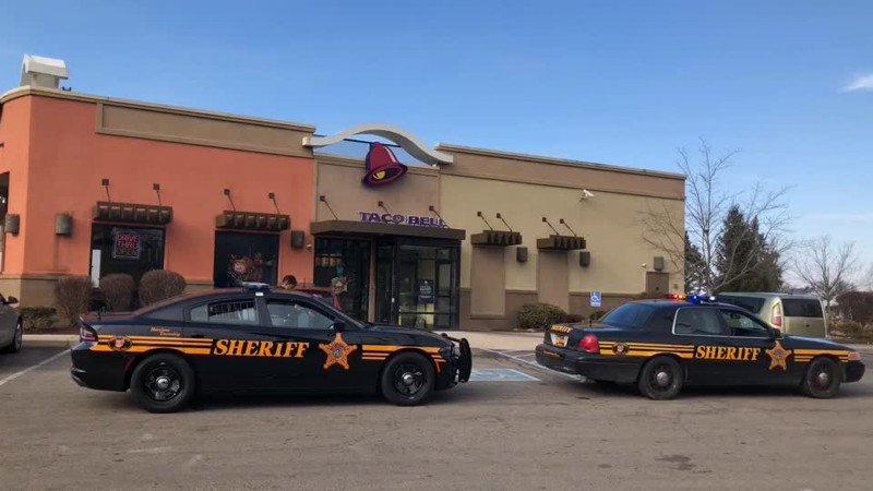 A Picture Of The Taco Bell In Dayton, Ohio.