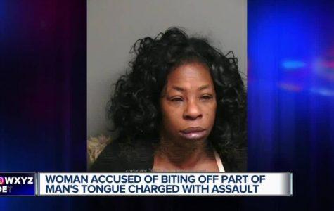 BREAKING NEWS: Woman Bites off Man's Tongue