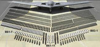 The B-2 and its various assortments of bombs it can carry.