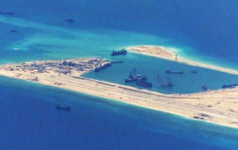 China is Building Artificial Islands