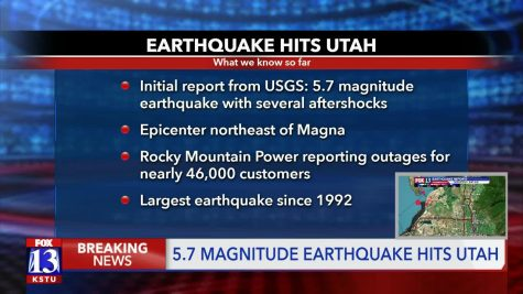 Utah's  Earthquake Takes Many By Suprise
