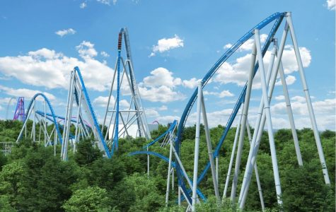 Kings Island's New Giga Coaster Completes Its First Test Run