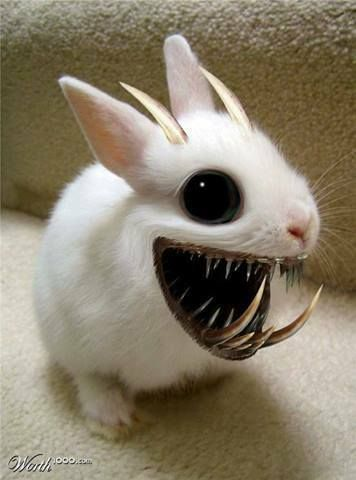 horror of the Ester bunny.