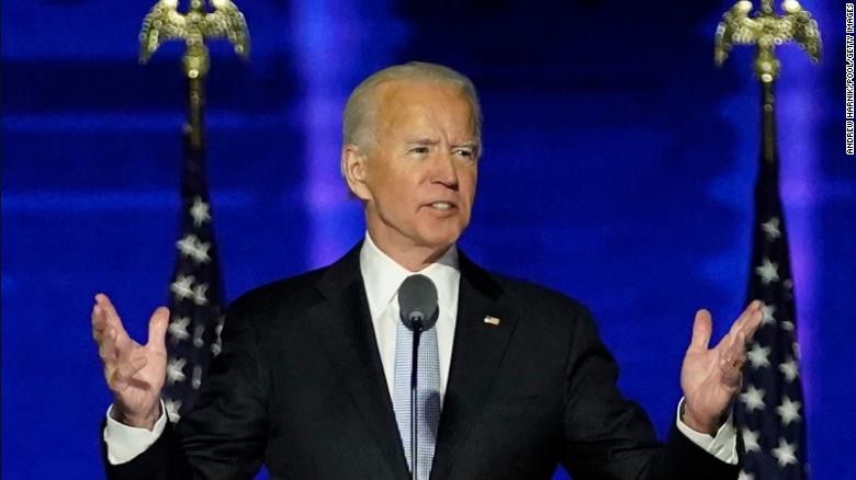 Biden gives speech during inauguration, as nations eagerly welcome him