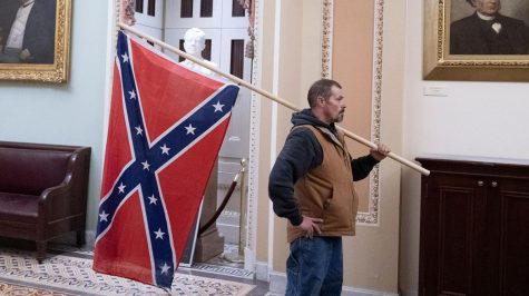 Confederate Flag Stormed Through Capitol Hill