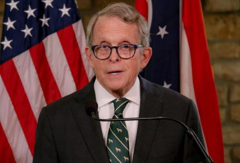 Dewine addressing the public about the vaccine rollout  Credit: StateNews.org