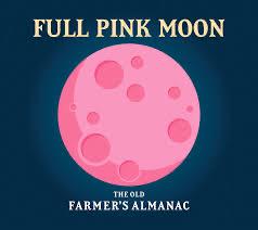 Aprils Pink Moon