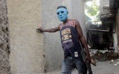 One of the gang members who kidnapped the missionaries. Credit: ABC News
